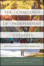 The Challenge of Independent Colleges book cover