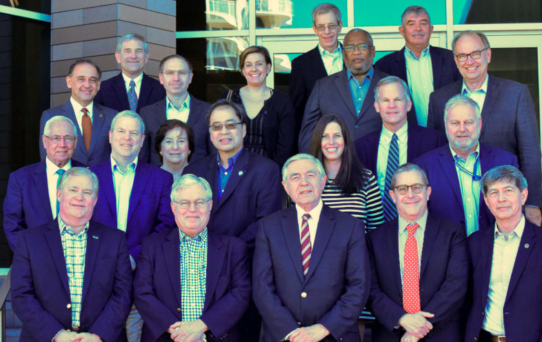 Group photo of U.S.-Mexico Higher Education Summits participants