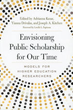 nvisioning Public Scholarship for Our Time book cover