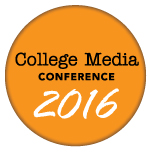 2016 College Media Conference logo