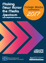 2017 College Media Conference brochure