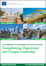 2018 Department Chair Workshops brochure