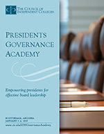 Presidents Governance Academy brochure