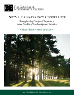 Chaplaincy Conference March brochure