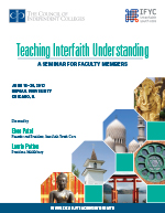 Interfaith brochure cover