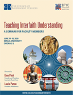 Interfaith Seminar brochure