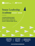 Senior Leadership Academy brochure
