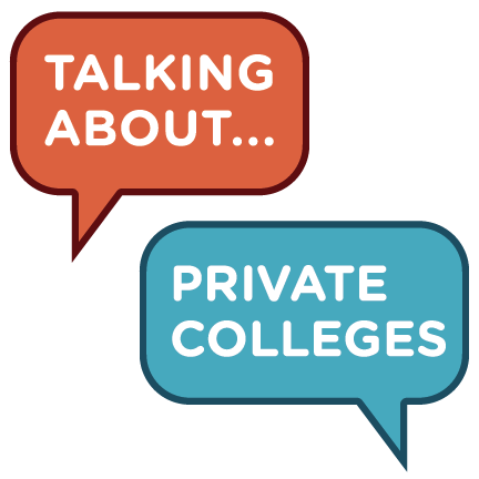 Talking about Private Colleges logo