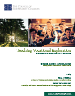 2020 Teaching Vocational Exploration brochure cover