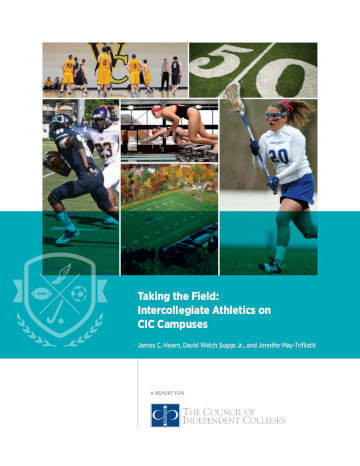 Athletics Report cover