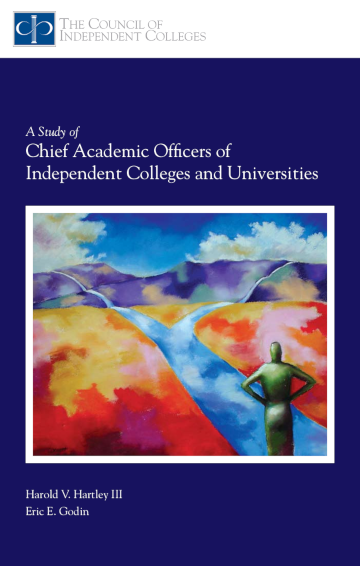 Study of Chief Academic Officers report cover