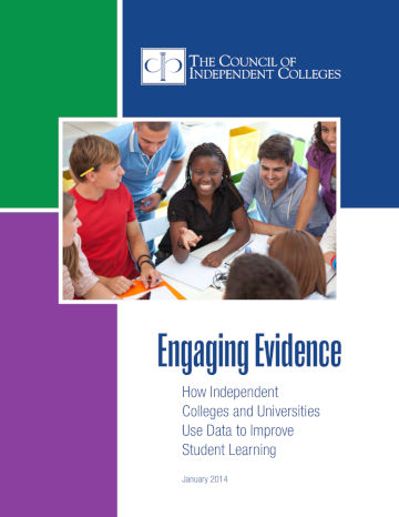 Engaging Evidence report cover
