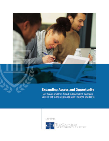 Expanding Access report cover