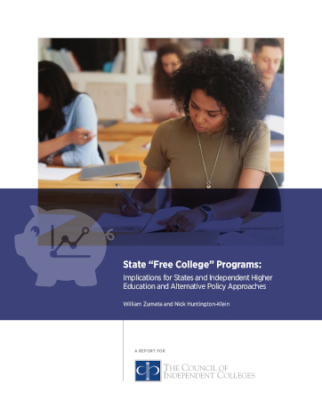 Report Examines Implications of 'Free College' Programs, Offers Alternative Approaches