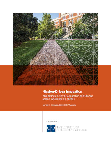 Mission-Driven Innovation report cover