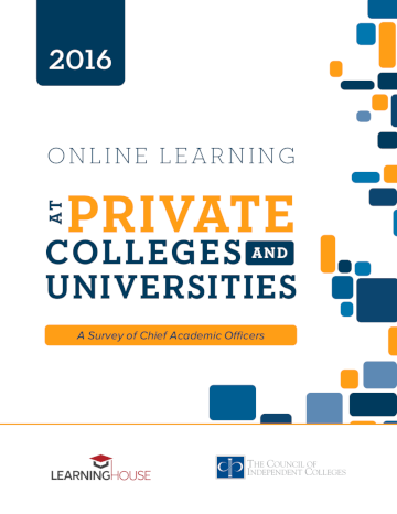 Online Learning report cover