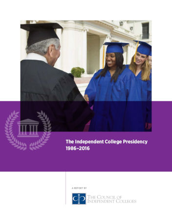 The Independent College Presidency cover