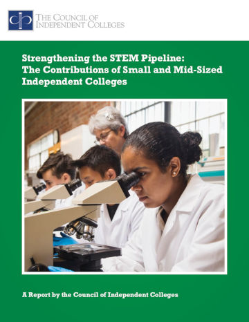 Strengthening STEM Pipeline report cover