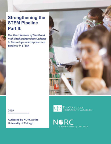 STEM report cover