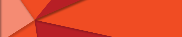 Athletics section banner, orange